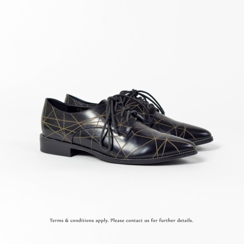 Striatum loafer | Handmade | Black Leather | RS6020A