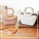 Fashion & delicate handmade handbag / Cow Leather / Multi layers / RB10227