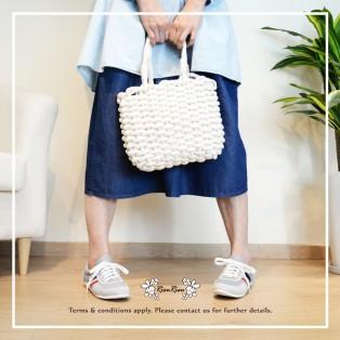 Hemp Rope Weaving Hand Bag / On Shoulder / On hand / RB10318