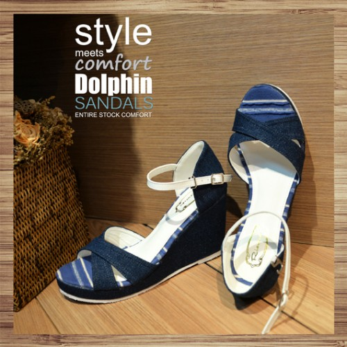 hollow structure casual wind platform sandals RS2682A