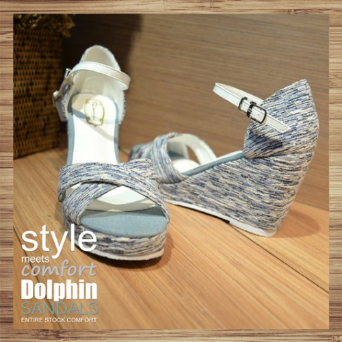 hollow structure casual wind platform sandals RS2682B