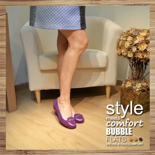 ATTRACTIVE PENNY LOAFER | PURPLE | LEATHER | HANDMADE | RS3508B