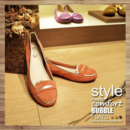 ATTRACTIVE PENNY LOAFER | ORANGE | LEATHER | HANDMADE | RS3508C