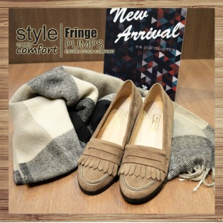Classic Vintage / Tassel Loafers / Beige / RS3523A
