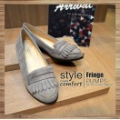 Classic Vintage / Tassel Loafers / Grey / RS3523B