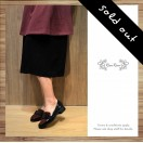 Lady Classic Black loafer / Red & black / RS3608A