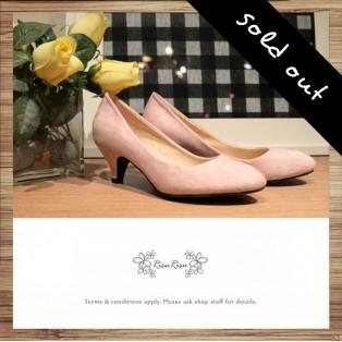 Fluffy Sense - Fine Velvet Flu Pointed Low Heel Shoes / RS3825B