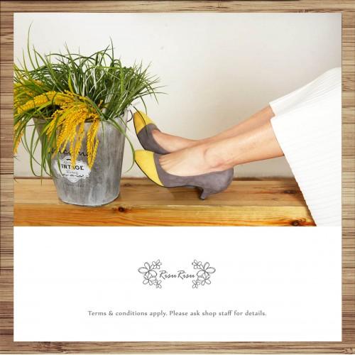 Light Mousse Full Sense! Velvet Shoes / Handmade / RS3826A