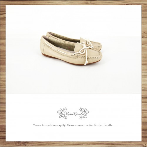 Peas Shoes / Washed Leather / Beautiful Holiday / Light grey / Upgrade Peas Shoes / RS3841A
