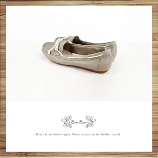 Peas Shoes / Washed Leather / Beautiful Holiday / Grey / Upgrade Peas Shoes / RS3841B