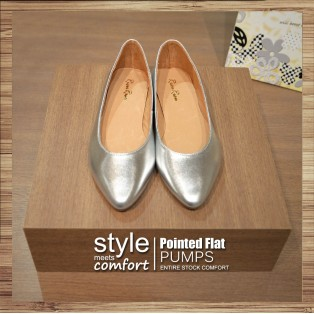 Flat Basic ( Sliver ) Roman Leather / RS3842A