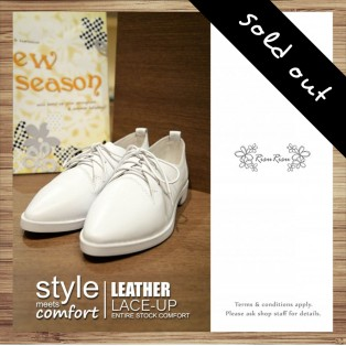Classic White Basic Models / White Shoes / Leather Shoes / Casual Shoes / RS3871C