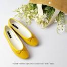 Patent Ballarinas | Flats | Vinyl | Yellow | RS6910D