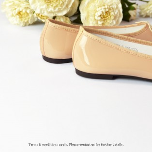 Patent Ballarinas | Flats | Vinyl | Pink | RS6910F