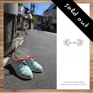 Risurisu / Shoe in Wonderland / Handmade / Japanese Fabric / RS3988B