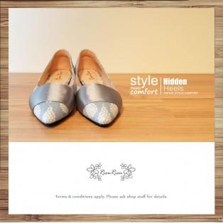 Cladding / decorative / ファブリック Fabric / minimalist leather shoes / RS5027B