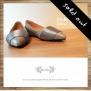 Cladding / decorative / minimalist leather shoes / Sliver / RS5027C