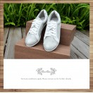 Silver Beam / Lace up trainers / Insole With Soft Cushions  / Sports Shoes / RS5801A