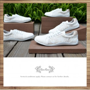 Weaving pattern / Lace up trainers / Insole With Soft Cushions  / Sports Shoes / RS5803A