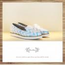 Waves women's shoes / Handmade custom / Japanese fabric / RS5822A