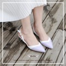Natural Purple / Thick Heels / Handmade / Full leather / RS5977A