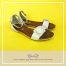 White Summer Sandals RS5978A + Delivery Cost To Toronto($235)
