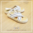 Cross Straps Sandals / Refreshing / White / Easy To Match / Fashion Sense & Delicate / Open Toe / RS5979A