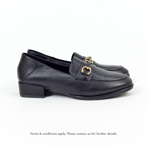 Classic | Comfort city look | Metallic Knot Accent | Black | RS6322B