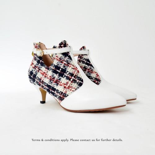 Risurisu Ankle Boots / Handmade / Checkered / RS6579A
