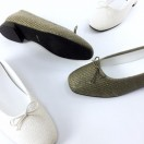Woven ballerinas / textile / Flats / RS6777