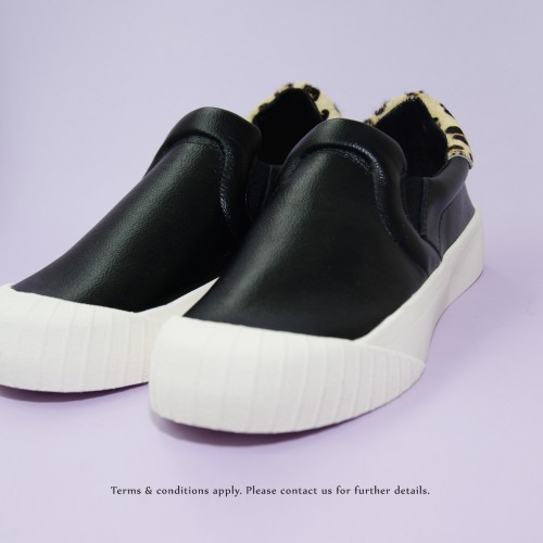 Sneaker collection |  Leather | Insole With Soft Cushions | Sports Shoes |  Black |  RS6807B
