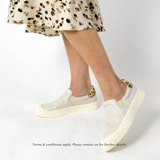 Sneaker collection |  Leather | Insole With Soft Cushions | Sports Shoes | White | RS6807A