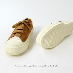 Wool Sneaker collection | Lace-up casual shoes | Insole With Soft Cushions | Brown | RS6827C