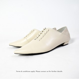 Structure Minimalist Leather Shoes | Sheepskin | Off White | RS6930B