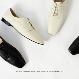 Tying rope bright leather casual shoes | Plain leather | RS6973A