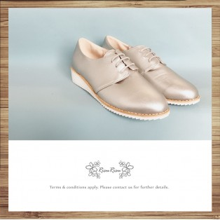 Bare Beige / Insole With Soft Leather / Casual Shoes / Sports Shoes / RS8292A