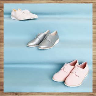 Pink / Insole With Soft Leather / Casual Shoes / Sports Shoes / RS8292B