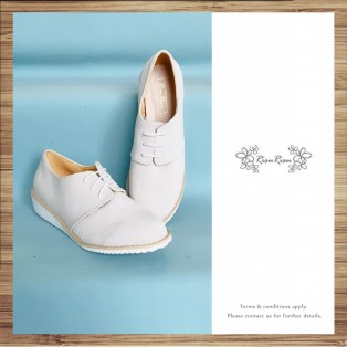 Beige/ Insole With Soft Leather / Casual Shoes / Sports Shoes / RS8292C